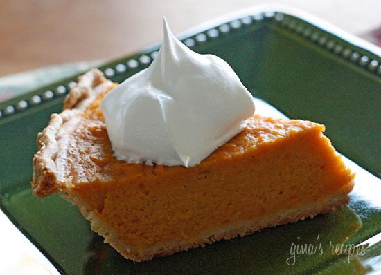 Sweet Potato Pie Thanksgiving  Healthier Thanksgiving Dessert Ideas