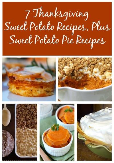Sweet Potato Pie Thanksgiving  7 Thanksgiving Sweet Potato Recipes Plus Sweet Potato Pie