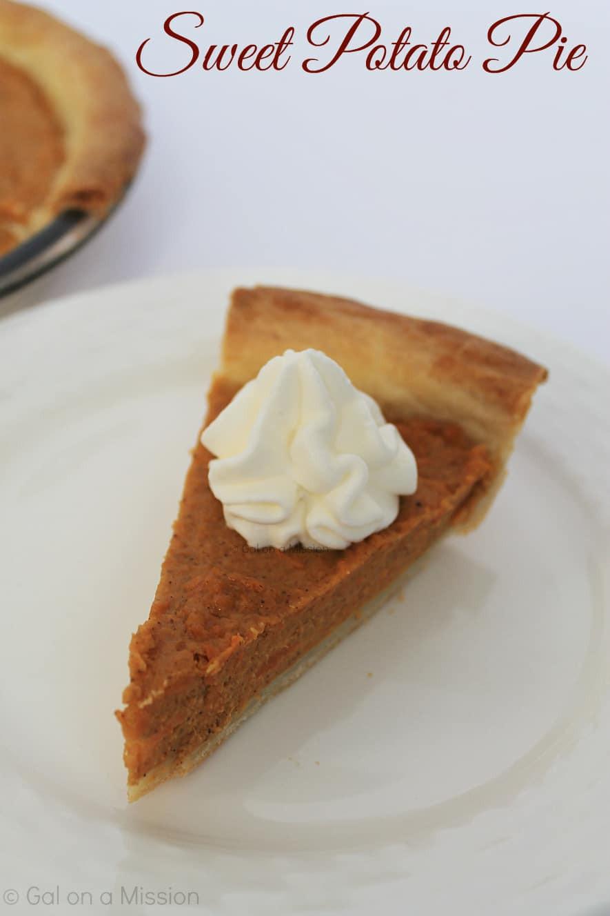 Sweet Potato Pie Thanksgiving  Sweet Potato Pie Gal on a Mission