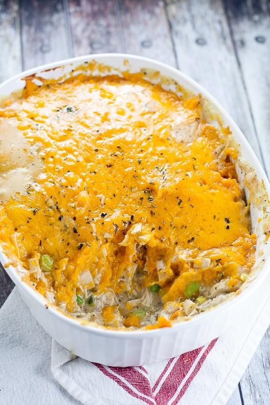 Sweet Potato Pie Thanksgiving  Sweet Potato Turkey Shepherd s Pie