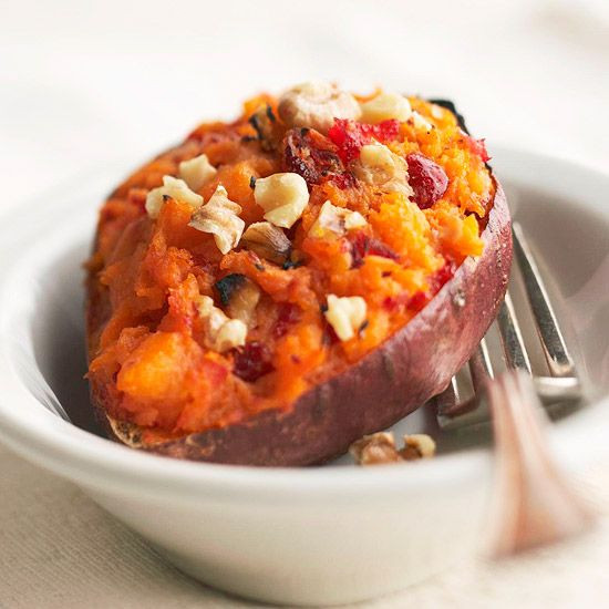 Sweet Potatoes Recipe For Thanksgiving Dinner  Twice Baked Sweet Potatoes Recipe