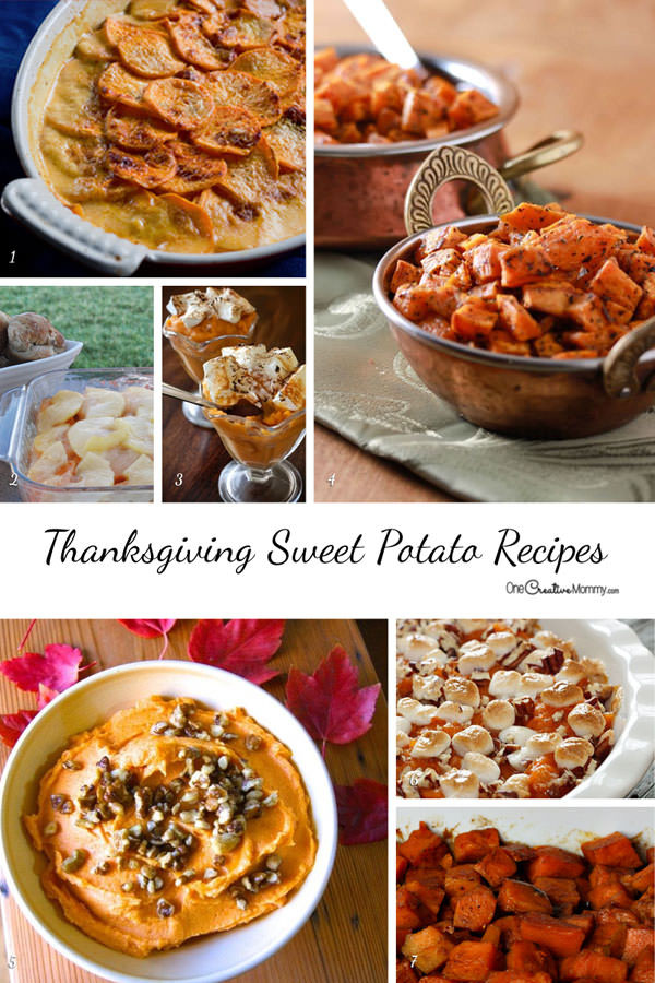 Sweet Potatoes Recipe For Thanksgiving Dinner  60 Gluten Free Thanksgiving Recipes onecreativemommy