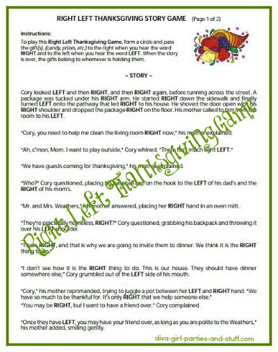 """T Is For Turkey: A True Thanksgiving Story  Search Results for """"Thanksgiving Left Right Story"""