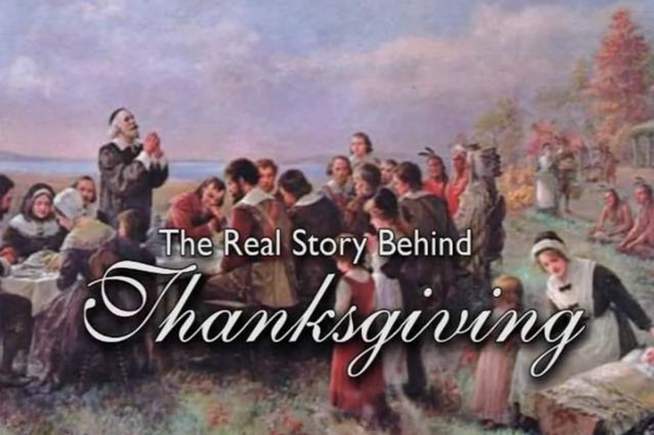 """T Is For Turkey: A True Thanksgiving Story  VCY Rally Bill Federer """"The Real Story behind"""