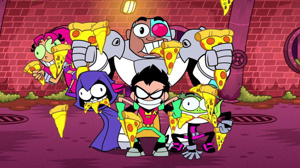 Teen Titans Go! Caramel Apples; Halloween  Teen Titans Go Season 2 Episode 19