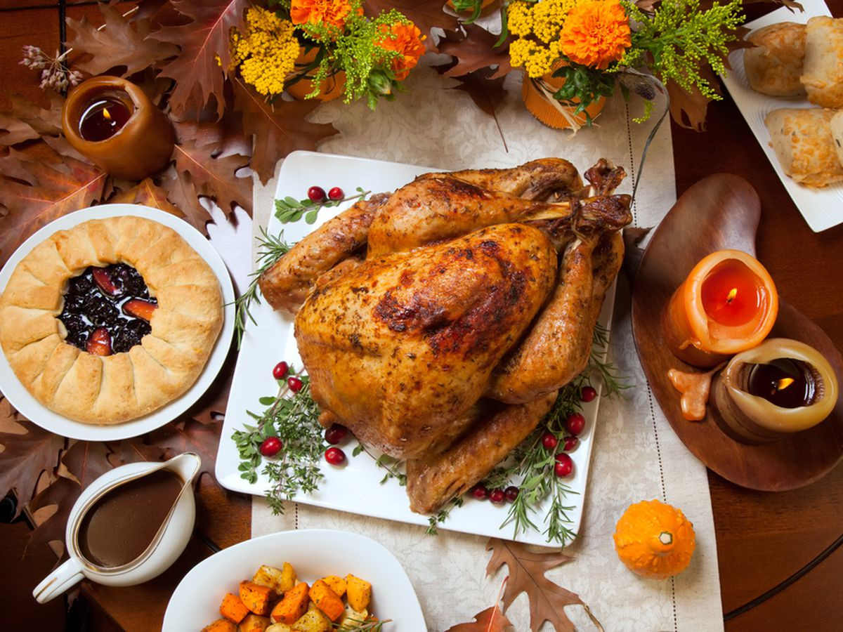 Thanksgiving 2019 Dinner  Thanksgiving Turkey Dinner Wallpaper