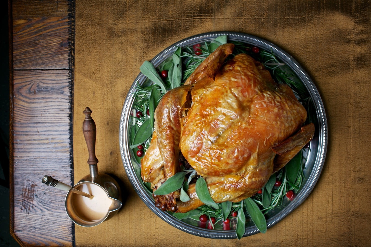 Thanksgiving 2019 Dinner  Simple Roast Turkey With Simplest Gravy The Washington Post