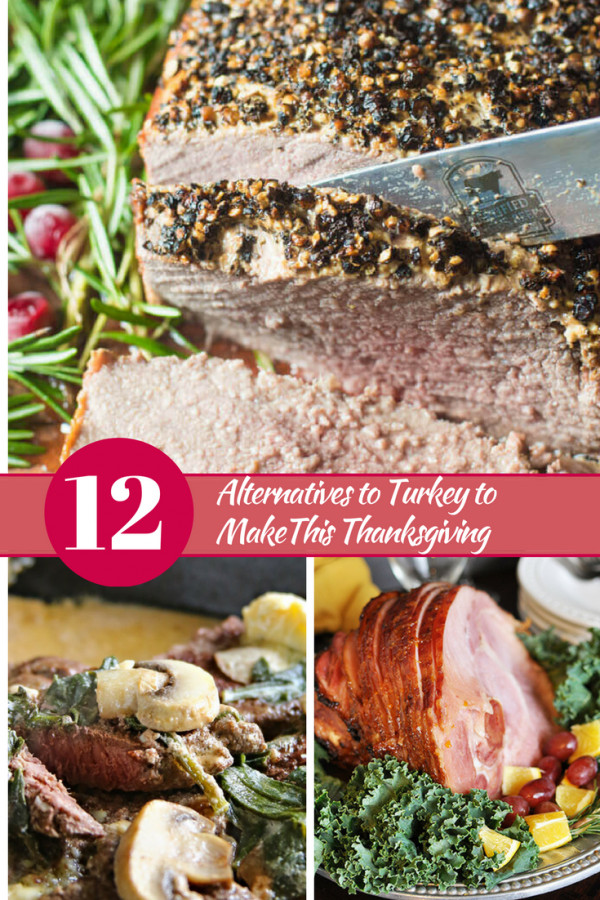 Thanksgiving Alternatives To Turkey  12 Alternatives to Turkey to make this Thanksgiving