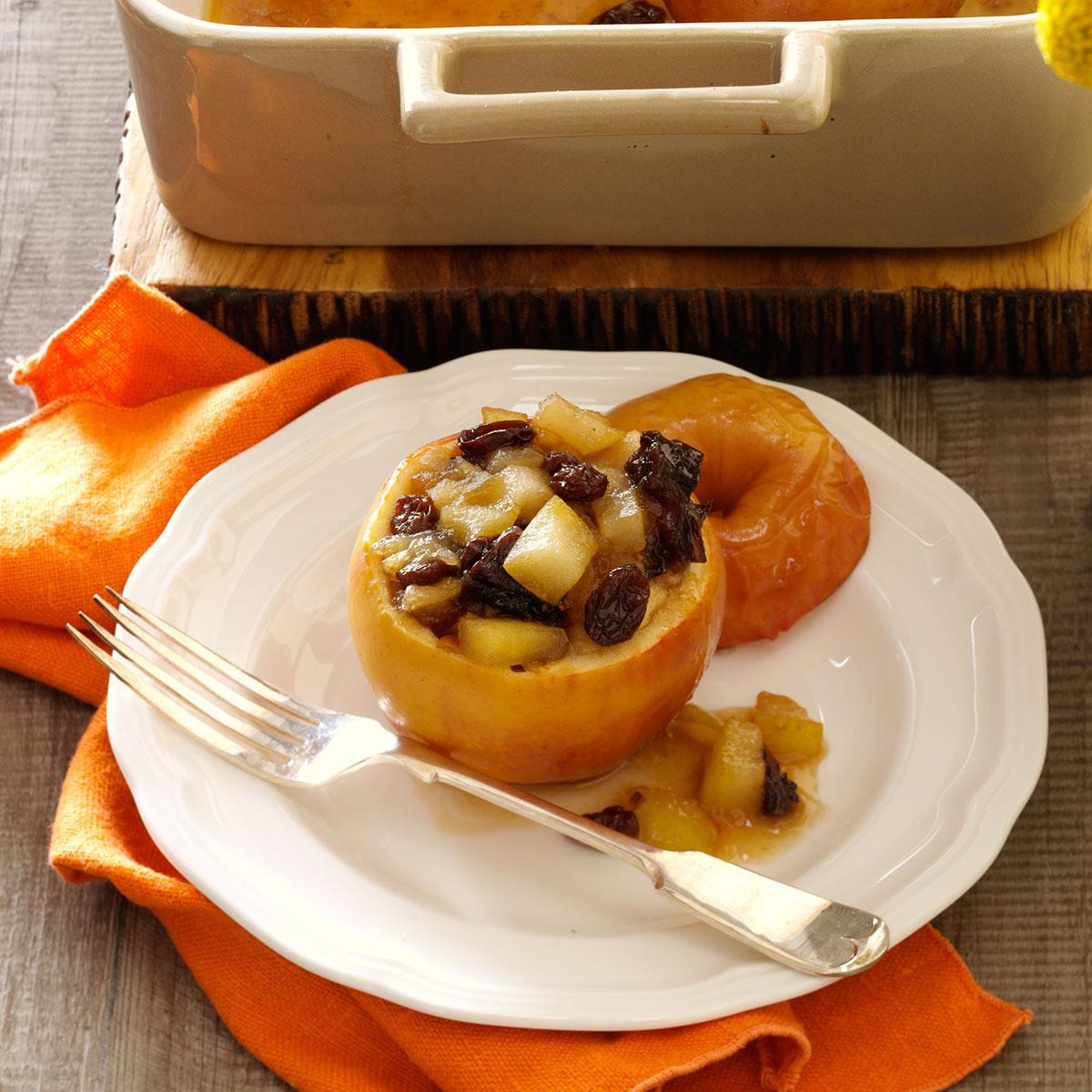Thanksgiving Apple Recipes  Thanksgiving Baked Apples Recipe