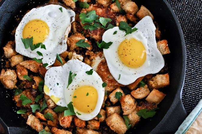 Thanksgiving Breakfast Menus  Day After Thanksgiving Breakfast Hash with Cheddar Mashed