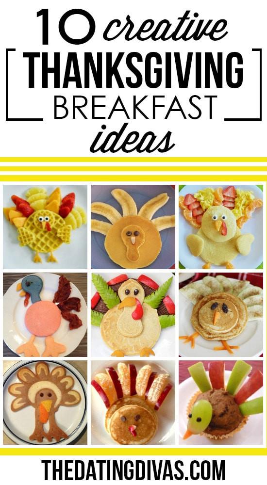 Thanksgiving Breakfast Menus  50 Fun Thanksgiving Food Ideas & Turkey Treats The