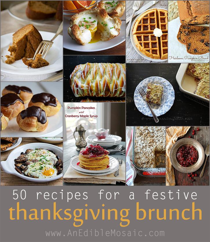 Thanksgiving Breakfast Menus  50 Recipes for a Festive Thanksgiving Brunch An Edible