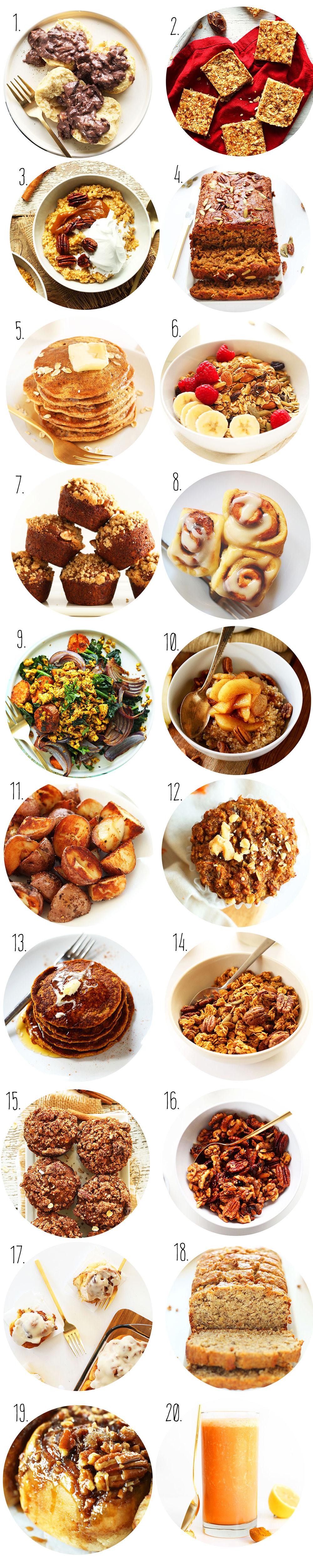 Thanksgiving Breakfast Menus  Vegan Thanksgiving Recipes