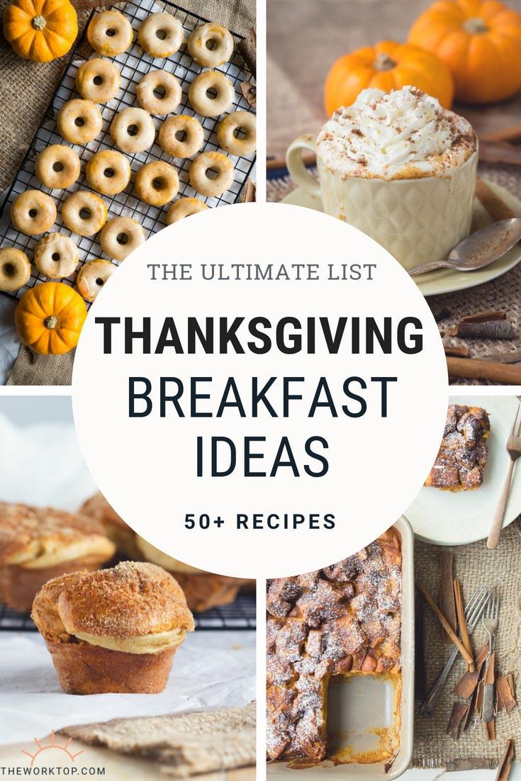 Thanksgiving Breakfast Menus  50 Delicious Thanksgiving Breakfast Ideas
