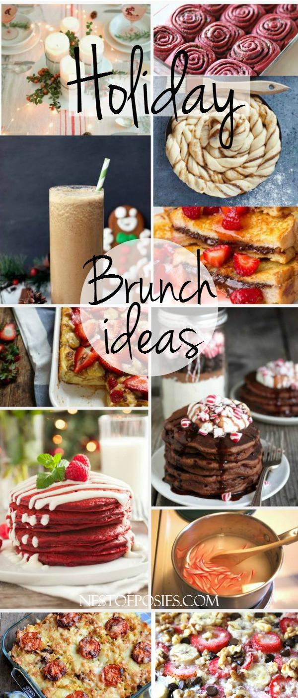Thanksgiving Breakfast Menus  Holiday Brunch Ideas