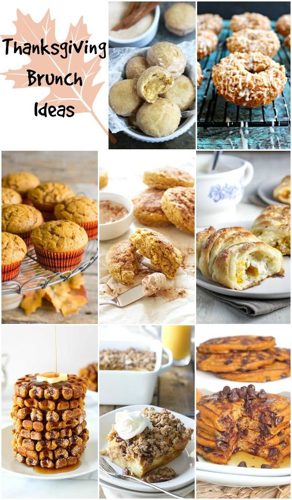 Thanksgiving Breakfast Menus  Thanksgiving Fun Recipes Crafts Party Ideas & More