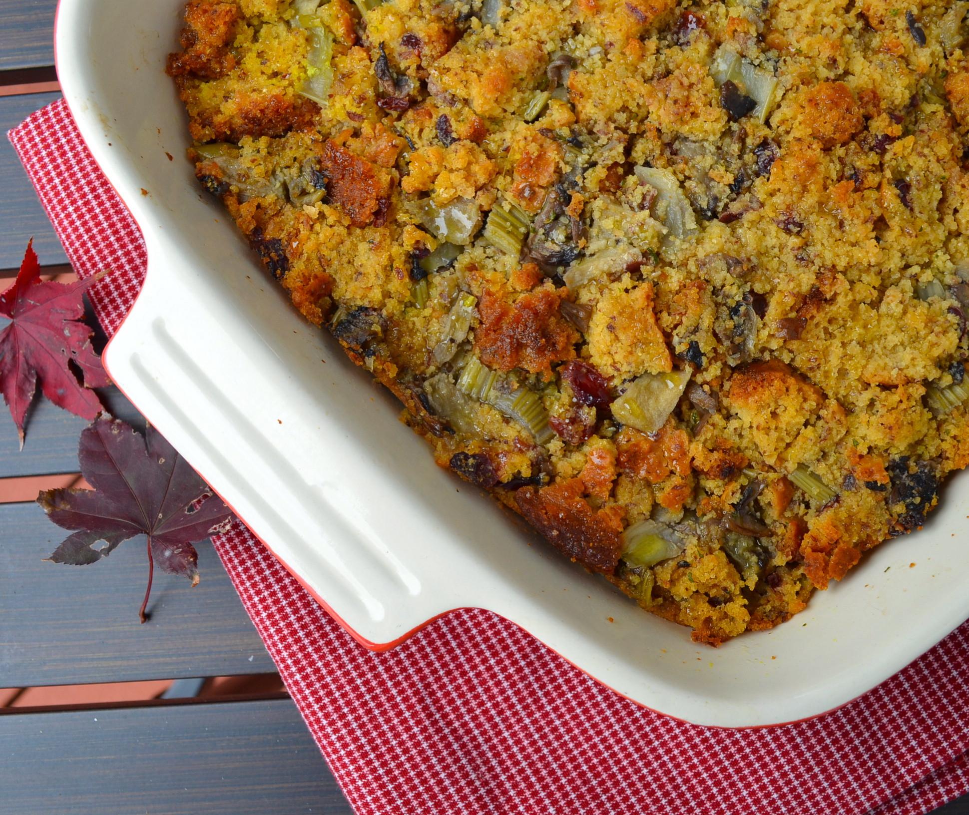Thanksgiving Cornbread Recipe  Ideas For A Vegan Thanksgiving Part 4 Apple Chestnut