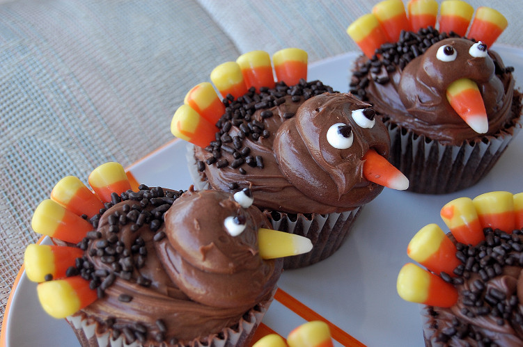 Thanksgiving Cupcakes Decorating Ideas  Food Ideas for Thanksgiving – Food 4 Your Mood