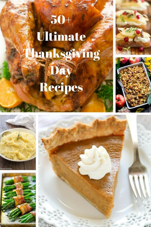 Thanksgiving Day Desserts  50 Ultimate Thanksgiving Day Recipes Flavor the Moments