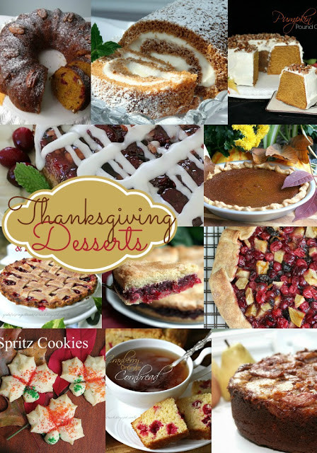Thanksgiving Day Desserts  With a Grateful Prayer and a Thankful Heart Collection of