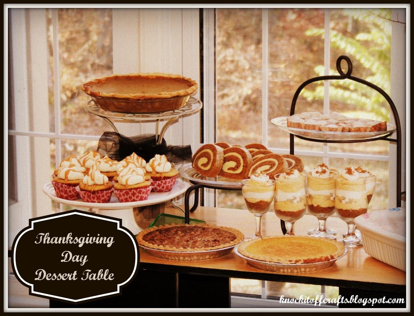 Thanksgiving Day Desserts  Thanksgiving Day Dessert Pumpkin Cheesecake Trifles