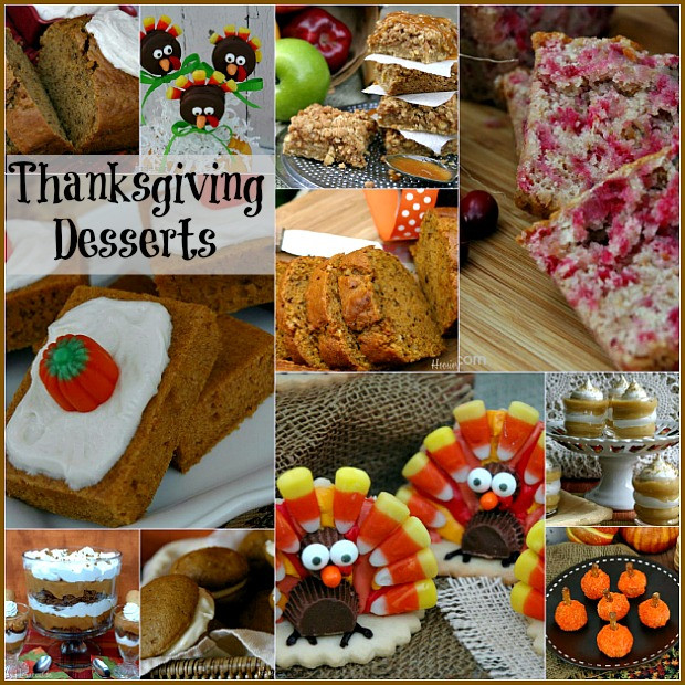 Thanksgiving Day Desserts  Thanksgiving Countdown Tips to make your holiday easier