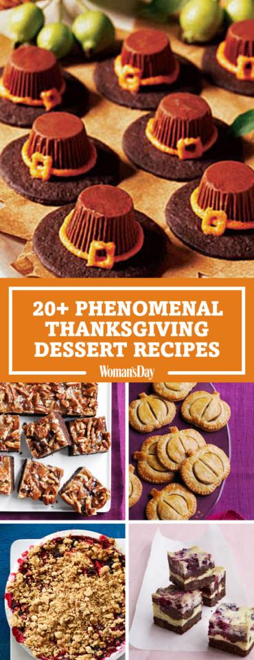 Thanksgiving Day Desserts  35 Phenomenal Recipes for Thanksgiving Desserts