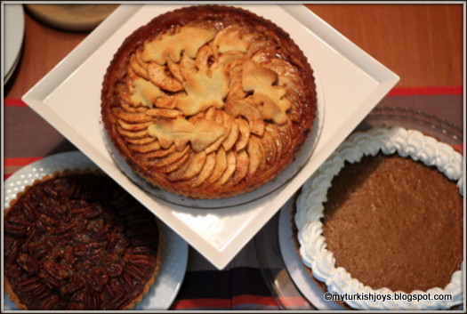 Thanksgiving Day Desserts  Happy Thanksgiving from Istanbul My Traveling Joys