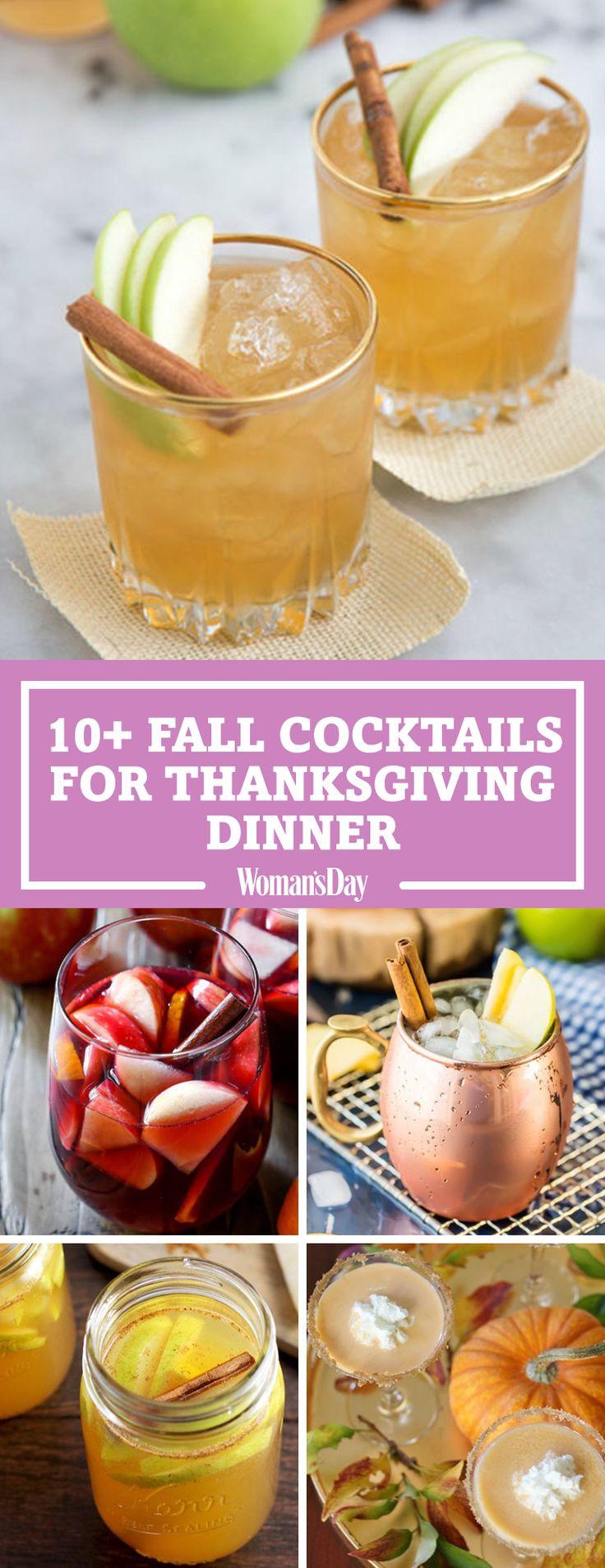 Thanksgiving Day Drinks  Best 25 Thanksgiving drinks ideas on Pinterest
