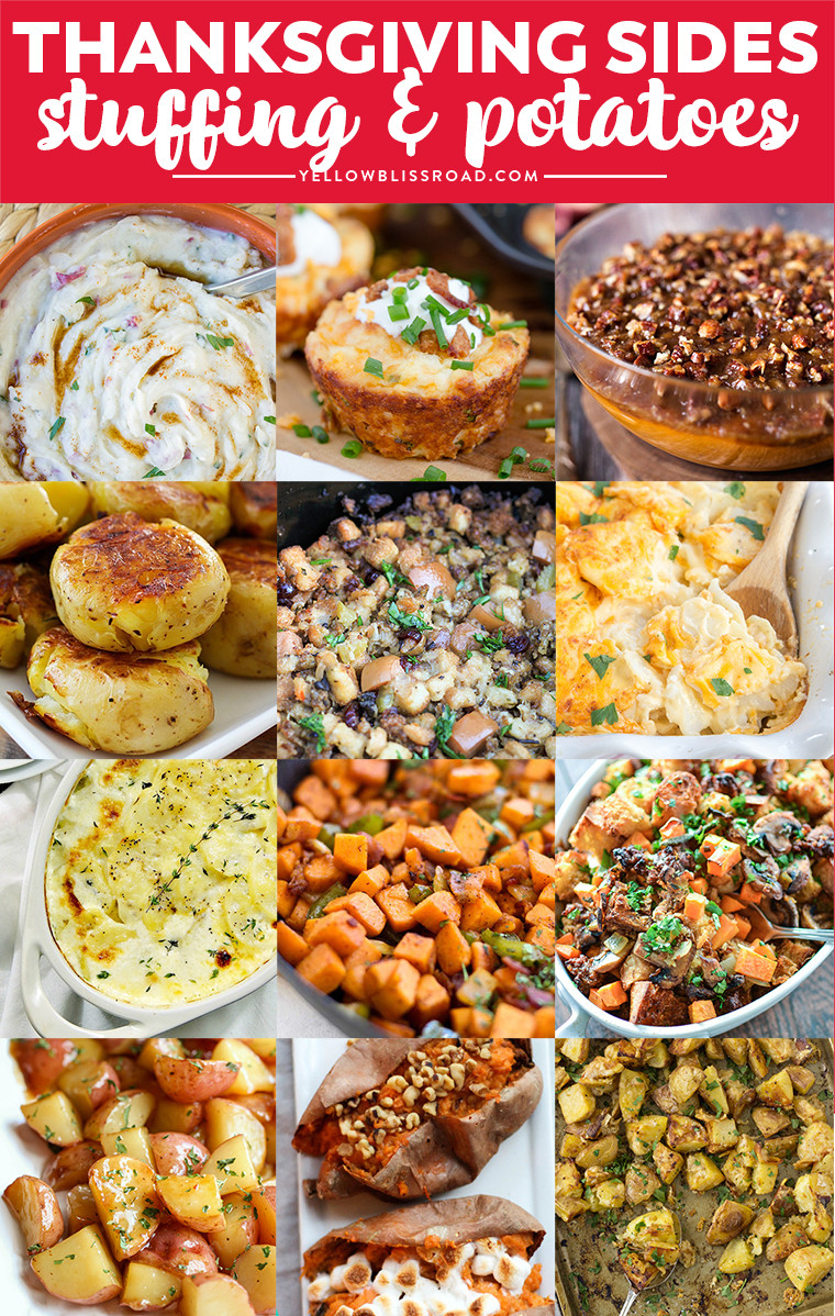 Thanksgiving Day Side Dishes  Thanksgiving Side Dishes