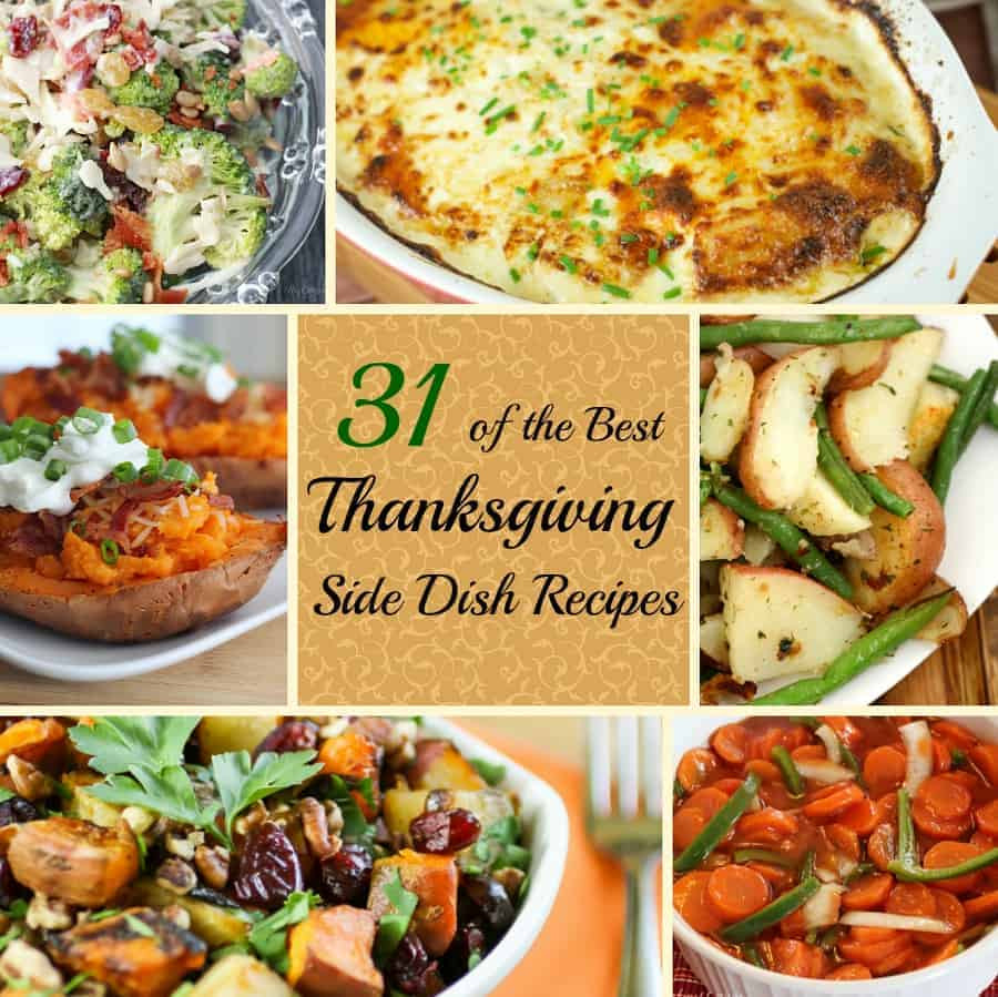 Thanksgiving Day Side Dishes  Best Thanksgiving Side Dish Recipes