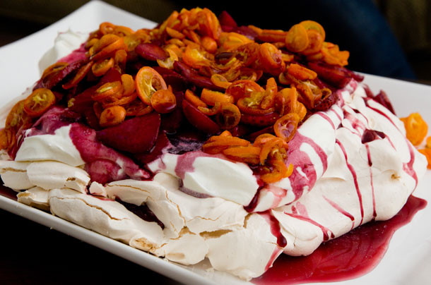 Thanksgiving Desserts For A Crowd  Easy Pavlova Recipe — Dishmaps