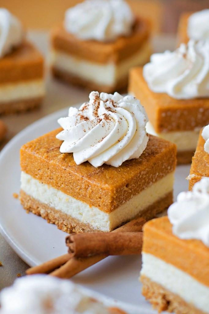 Thanksgiving Desserts List  THANKSGIVING DESSERTS