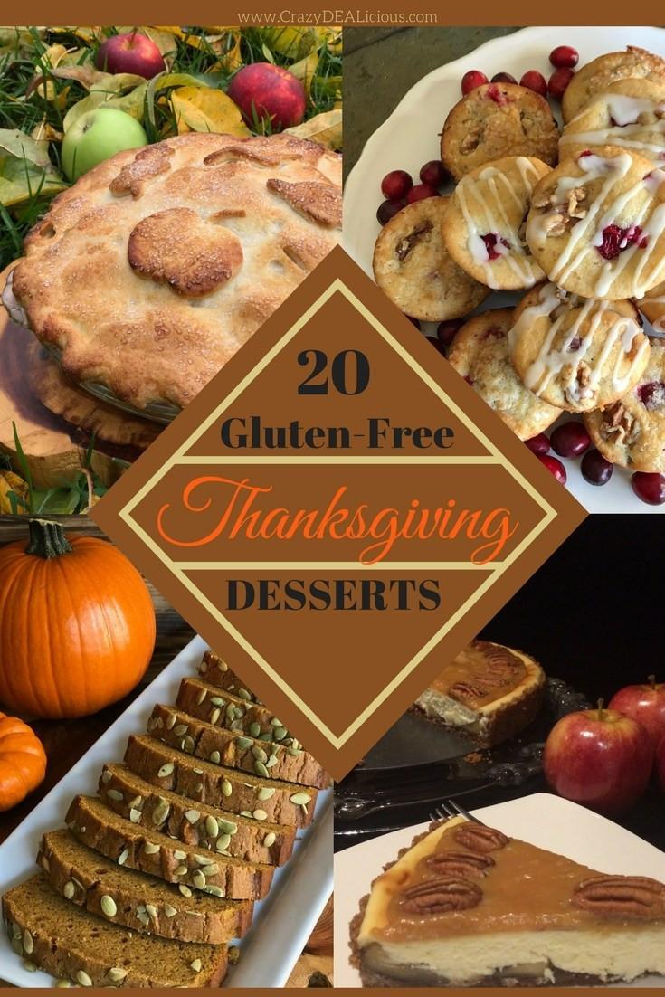 Thanksgiving Desserts List  20 Gluten Free Thanksgiving Desserts