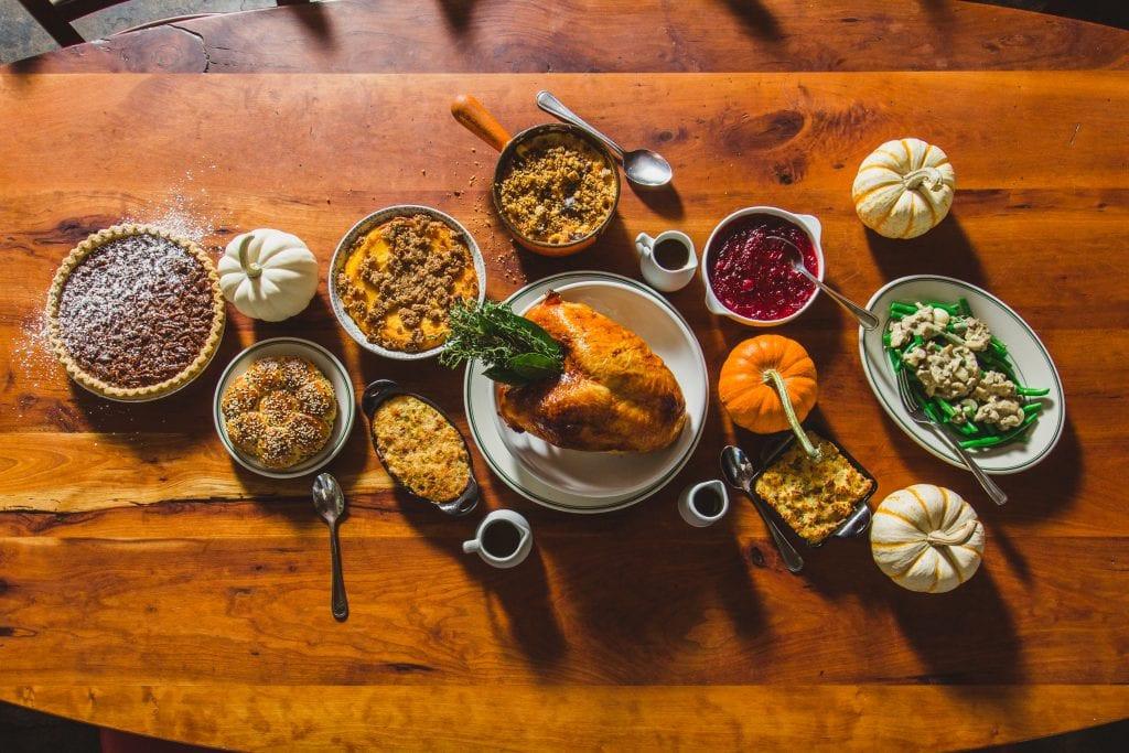 Thanksgiving Dinner Atlanta  Atlanta Restaurants and Takeout Serving Thanksgiving