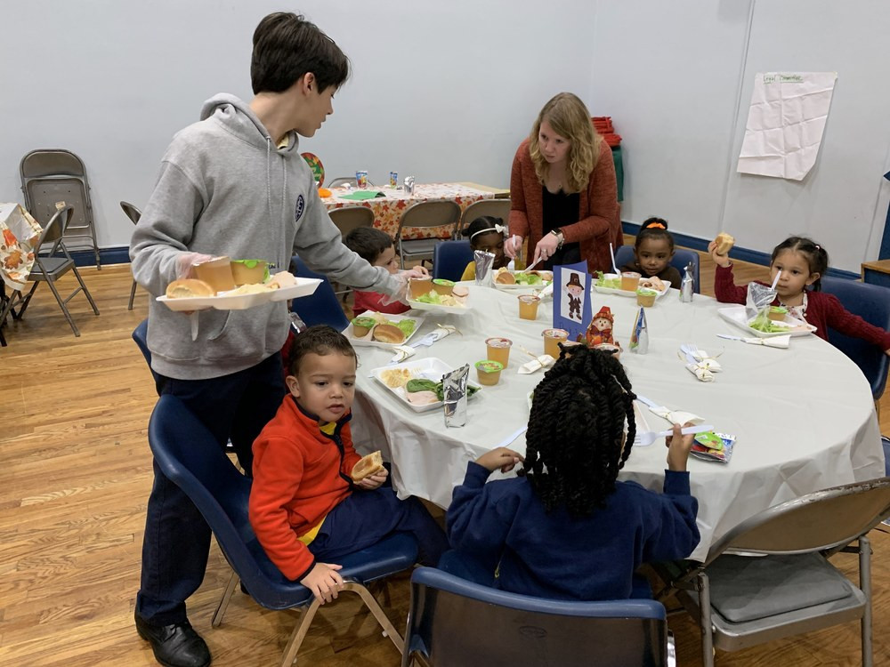 Thanksgiving Dinner New York 2019  Thanksgiving Dinner 2018 Good Shepherd School