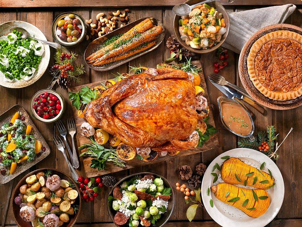 Thanksgiving Dinner Restaurants 2019  Thanksgiving Turkey Holiday Wallpaper
