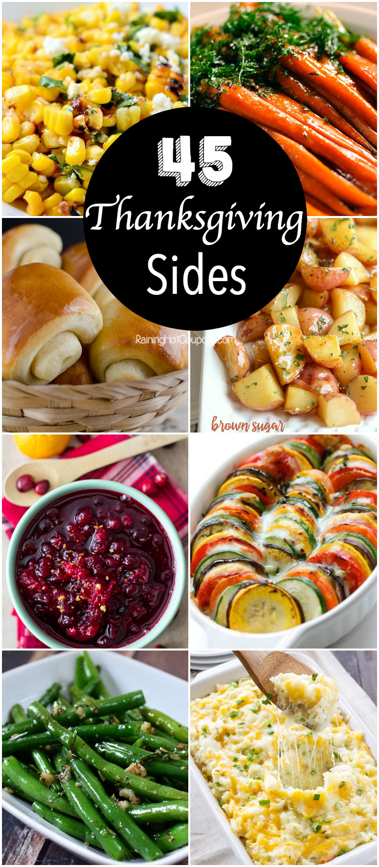 Thanksgiving Dinner Side Dishes  45 Thanksgiving Side Dishes