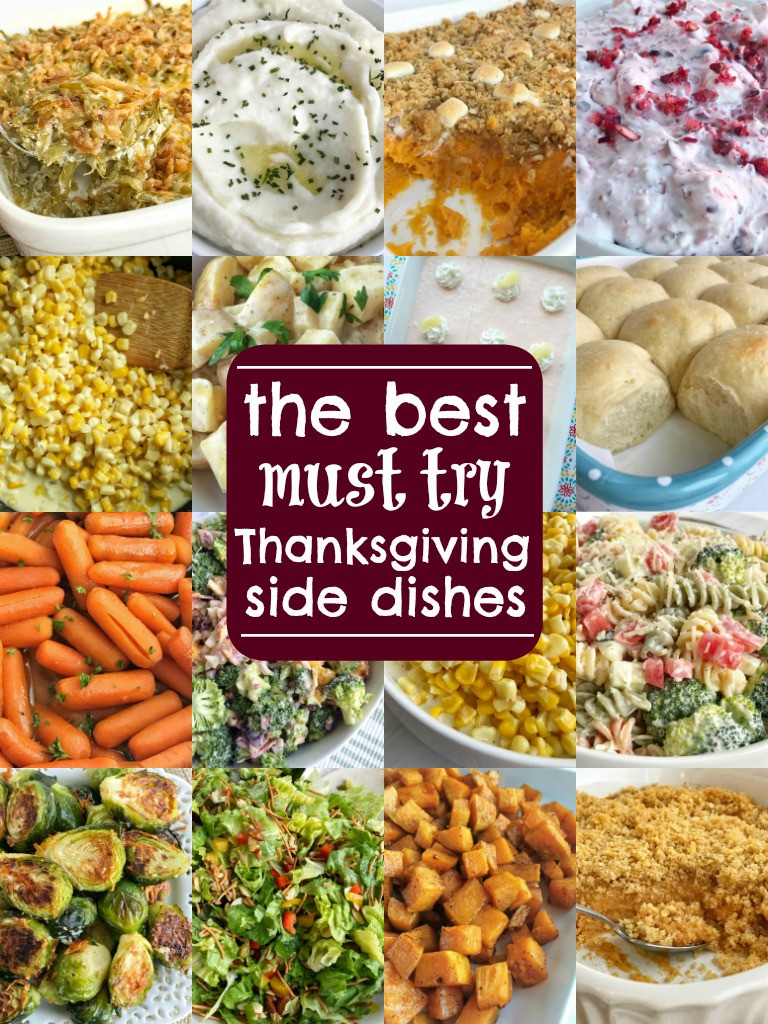 Thanksgiving Dinner Side Dishes  The Best Thanksgiving Side Dish Recipes To her as Family