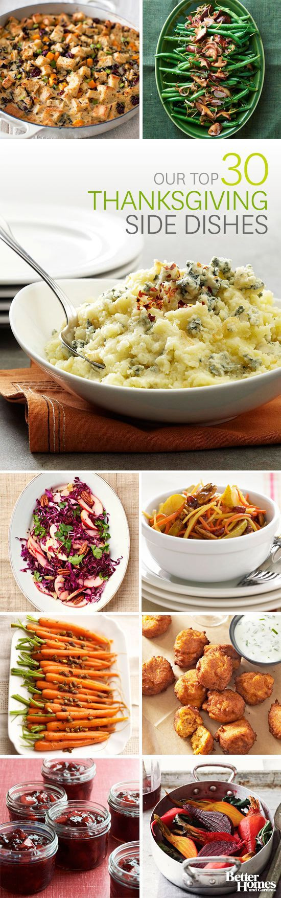 Thanksgiving Dinner Side Dishes  Make Ahead Holiday Side Dishes