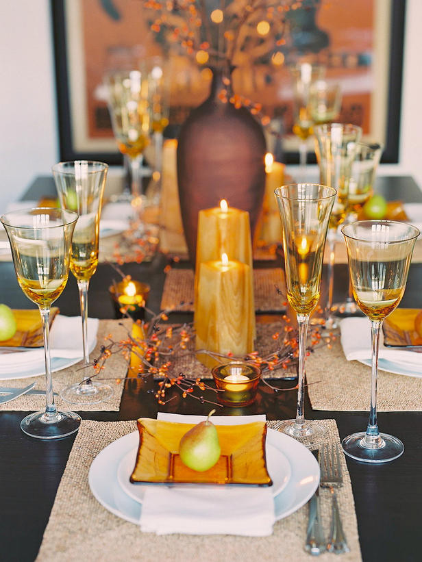 Thanksgiving Dinner Table Decorations  dig 13 Suzy q better decorating bible blog ideas how