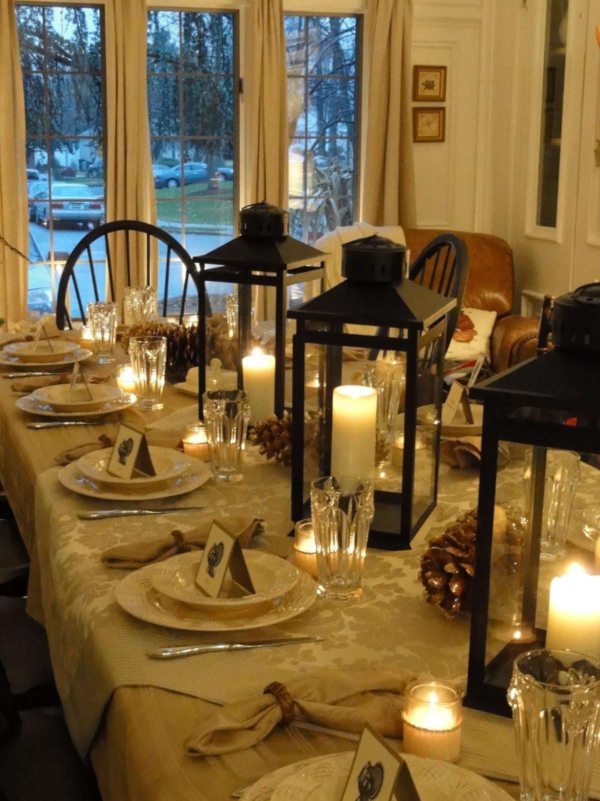Thanksgiving Dinner Table Settings  16 Thanksgiving Table Ideas table setting