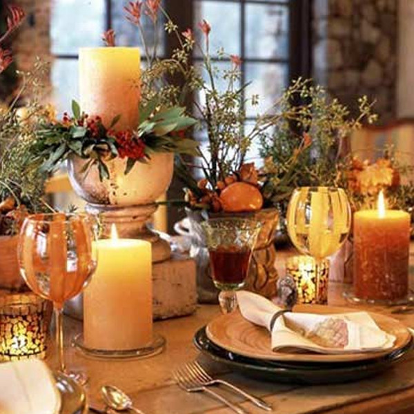 Thanksgiving Dinner Table Settings  20 Gorgeous And Awesome Thanksgiving Table Decorations