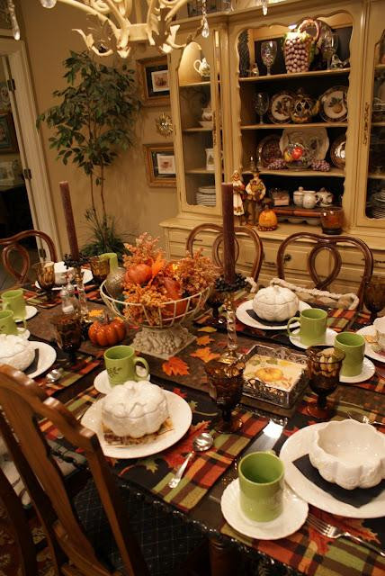 Thanksgiving Dinner Table Settings  It s Written on the Wall Ideas for your Thanksgiving