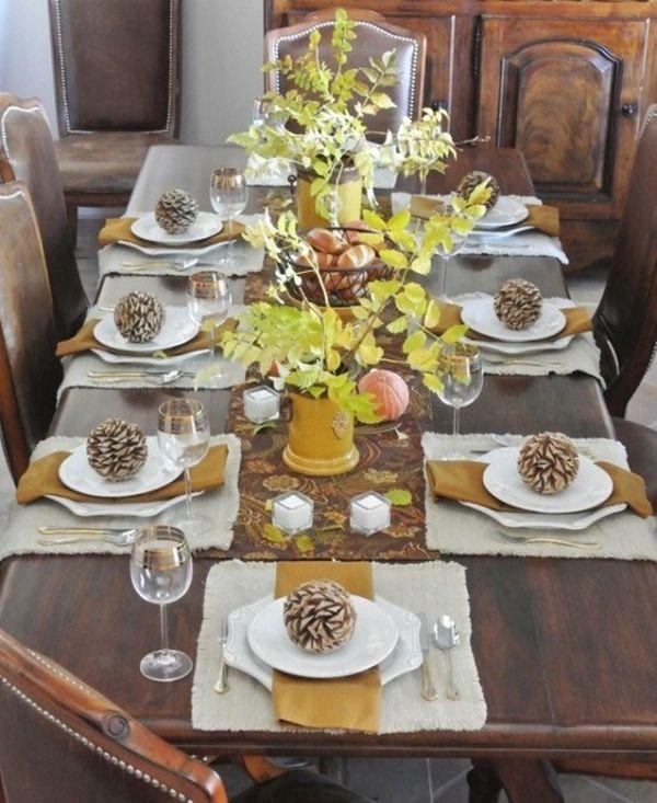Thanksgiving Dinner Table Settings  Thanksgiving Dinner Table Settings & Thanksgiving Dinner