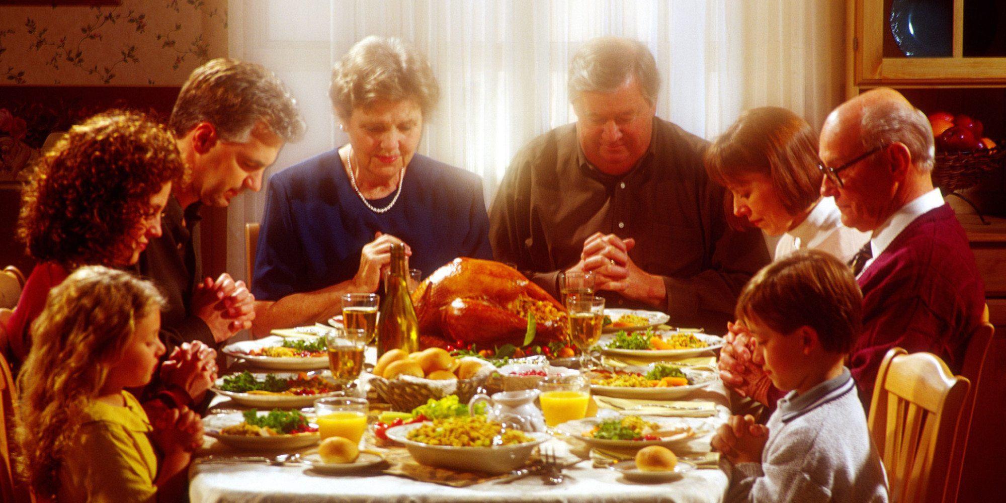 Thanksgiving Dinner To Go 2019  Oración para el Da de Acción de Gracias – Thanksgiving