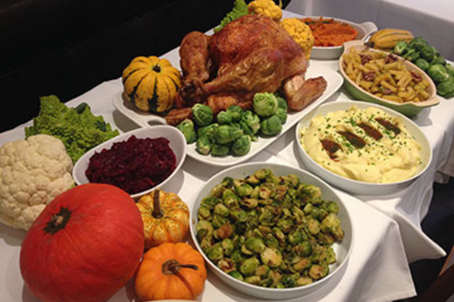 Thanksgiving Dinners New York City  Telepan Thanksgiving Dinner in New York City