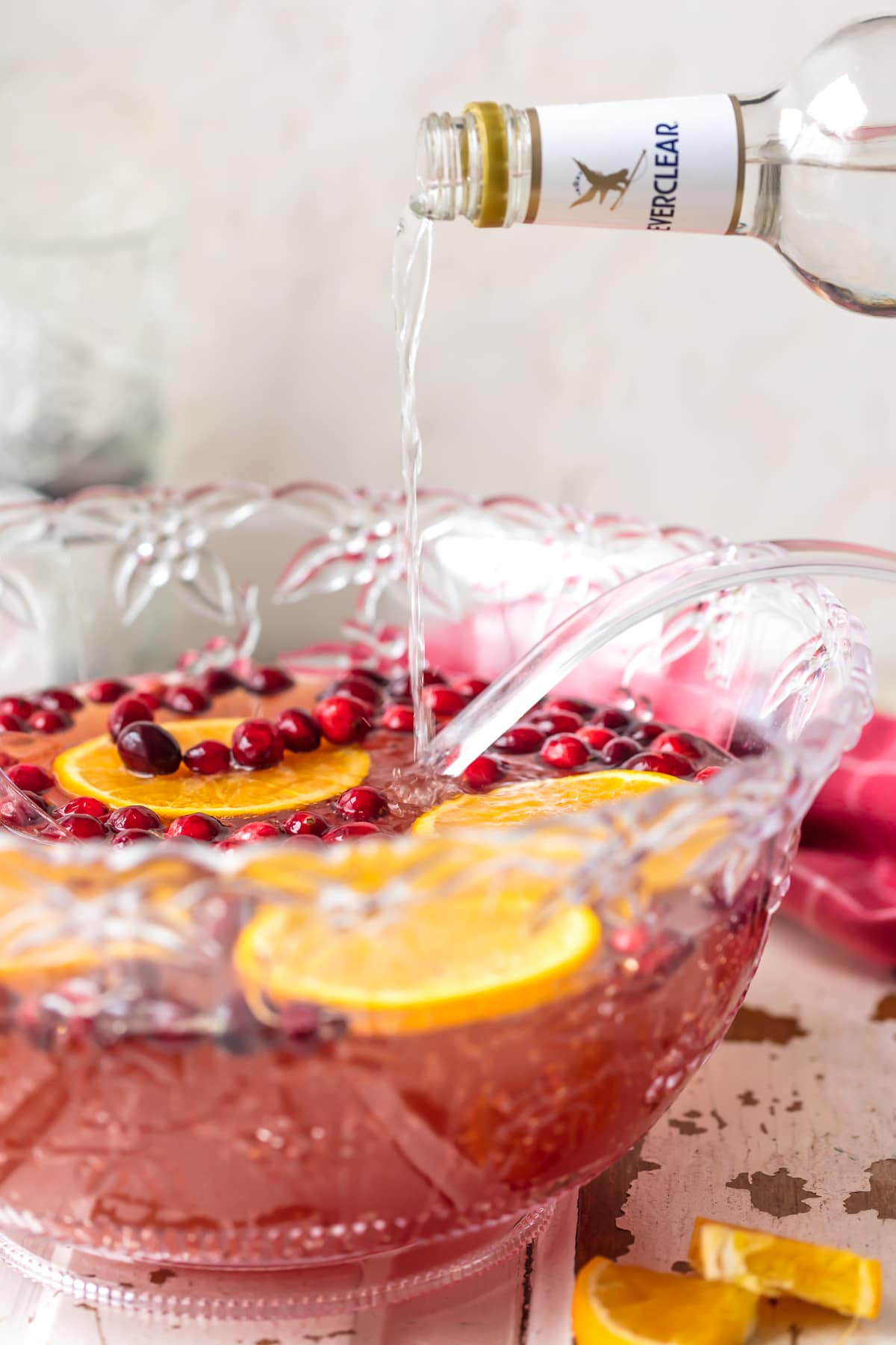 Thanksgiving Drinks For A Crowd  Easy Holiday Punch The Cookie Rookie