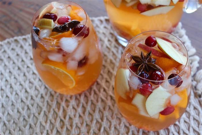 Thanksgiving Drinks For A Crowd  Thanksgiving Sangria Is the Perfect Cocktail for a Crowd