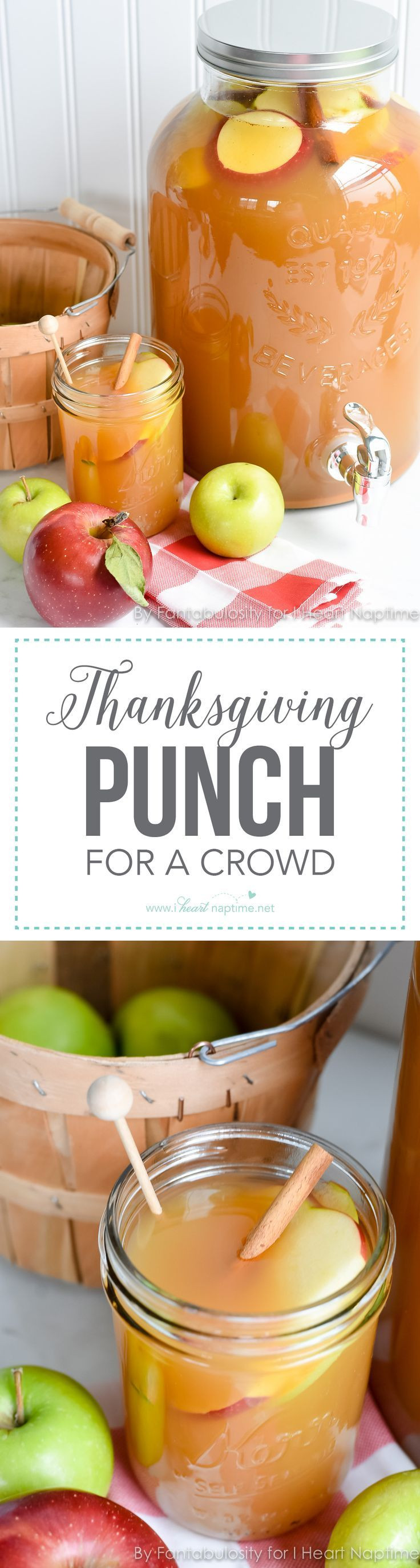 Thanksgiving Drinks For A Crowd  Thanksgiving Punch Recipe